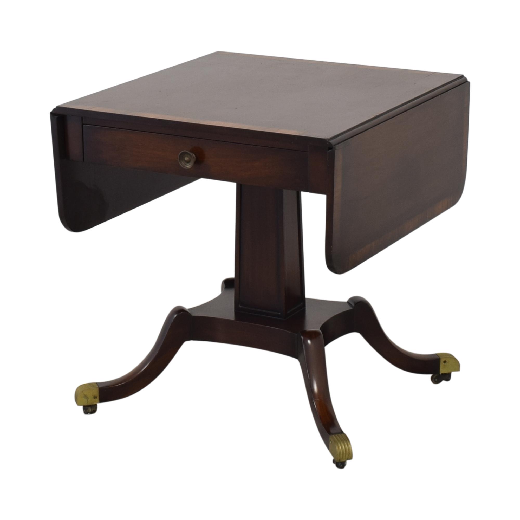 Vintage Federal Style Drop Leaf Table ma