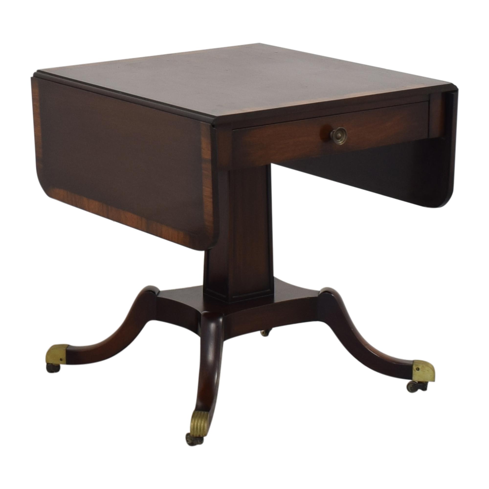 Vintage Federal Style Drop Leaf Table ct