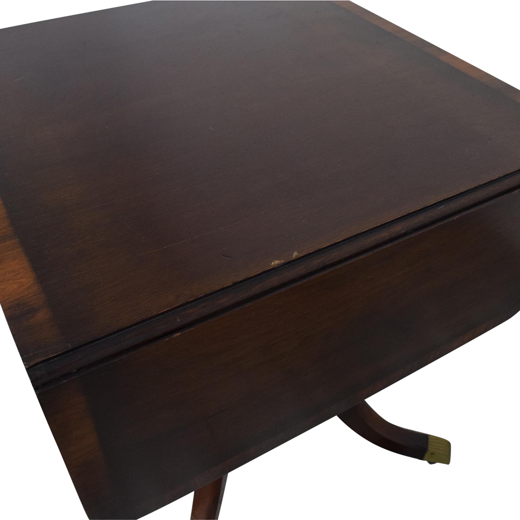 Vintage Federal Style Drop Leaf Table / Dinner Tables