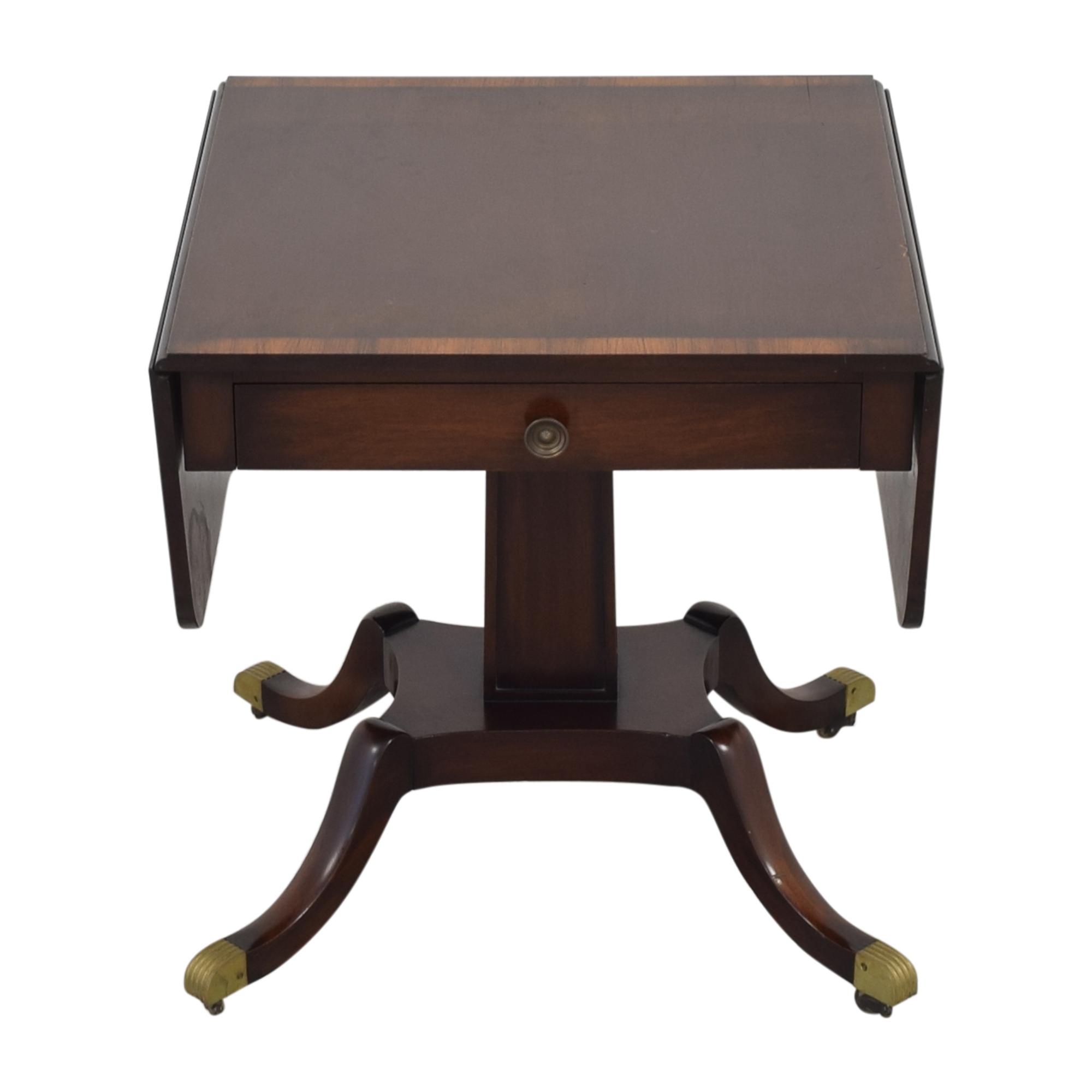 Vintage Federal Style Drop Leaf Table Tables