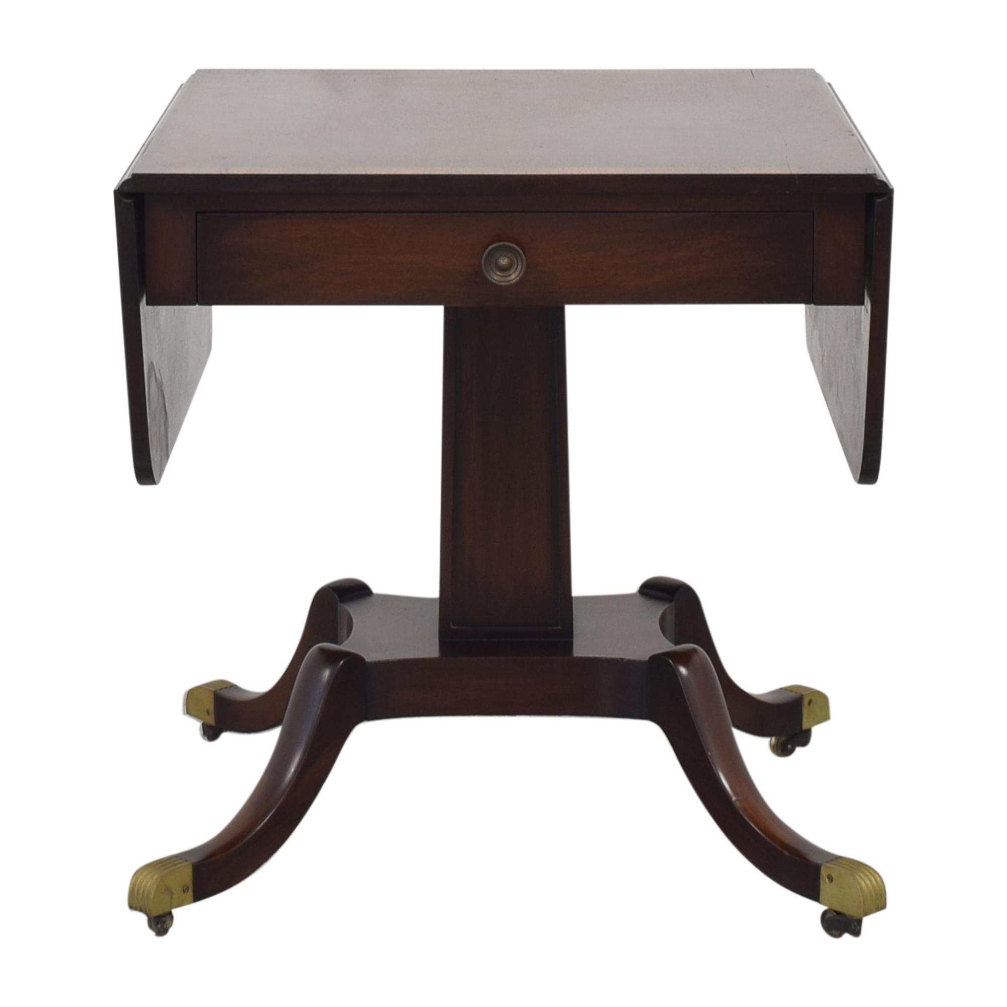 Vintage Federal Style Drop Leaf Table price