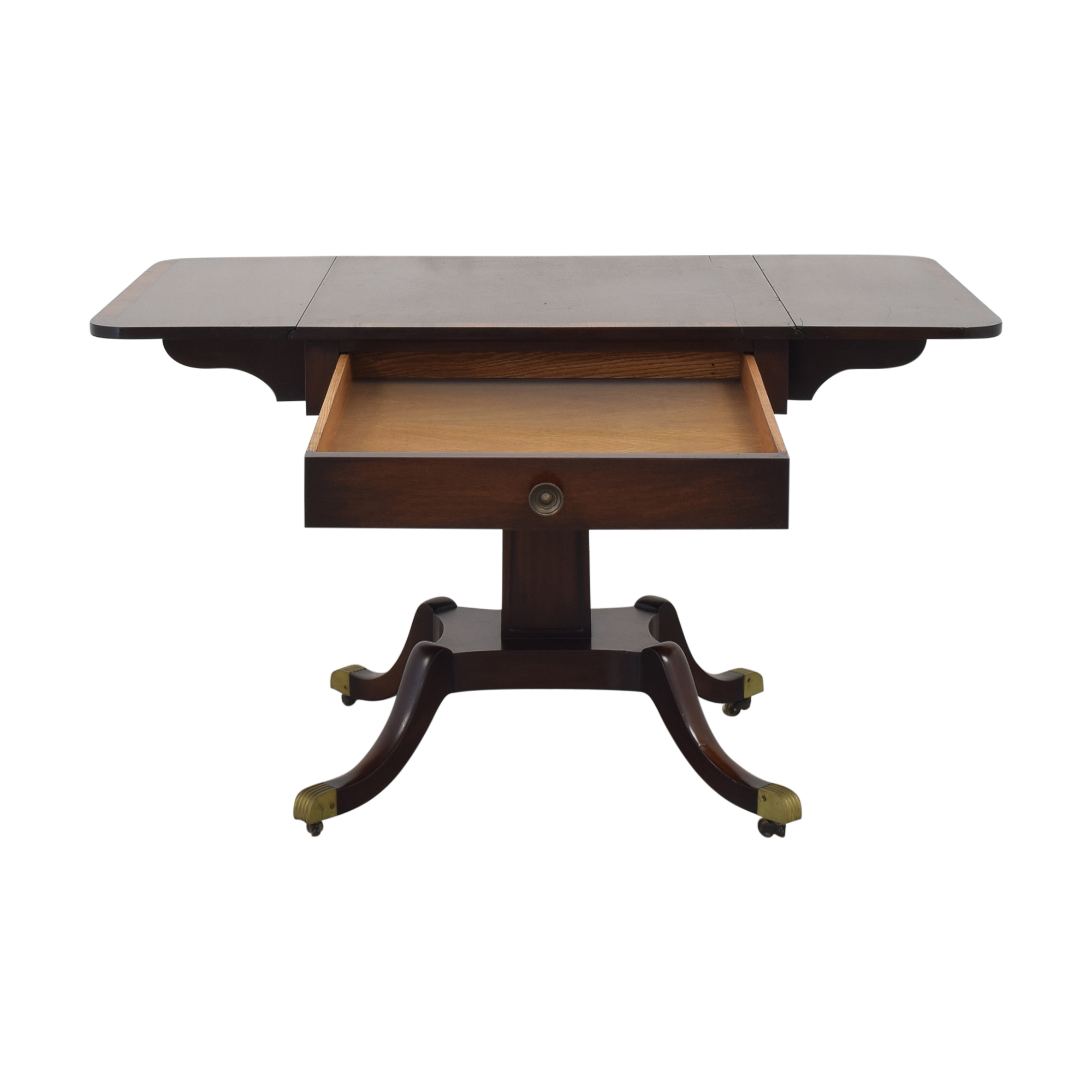 buy Vintage Federal Style Drop Leaf Table