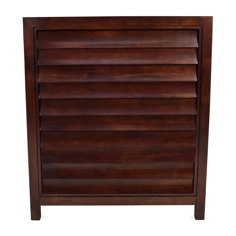 Dark Brown Wooden Dresser used
