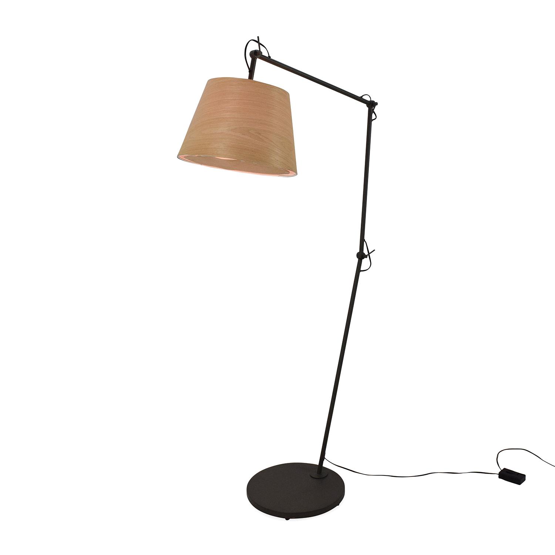 buy CB2 Polygon Floor Lamp CB2 Lamps