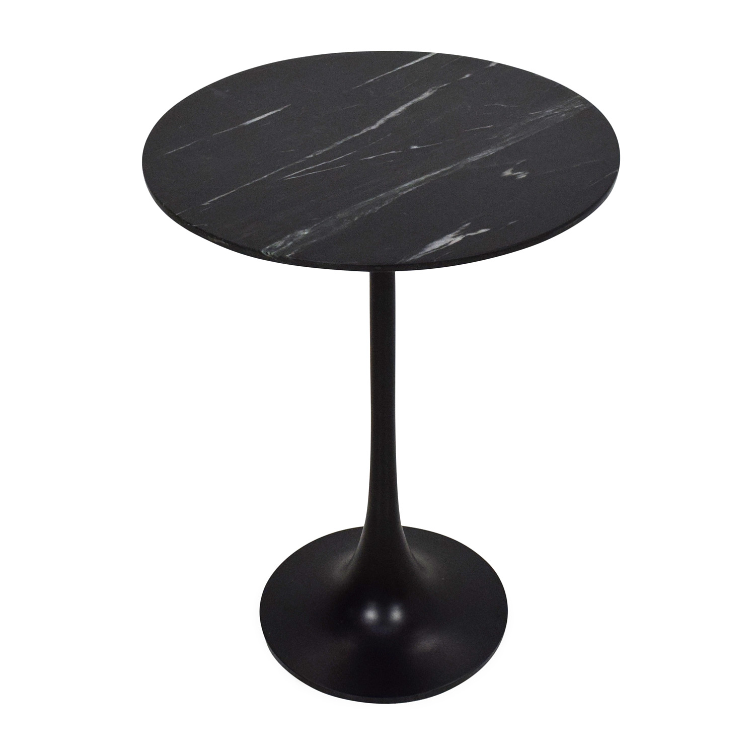 Crate & Barrel Marble Sidetable / End Tables