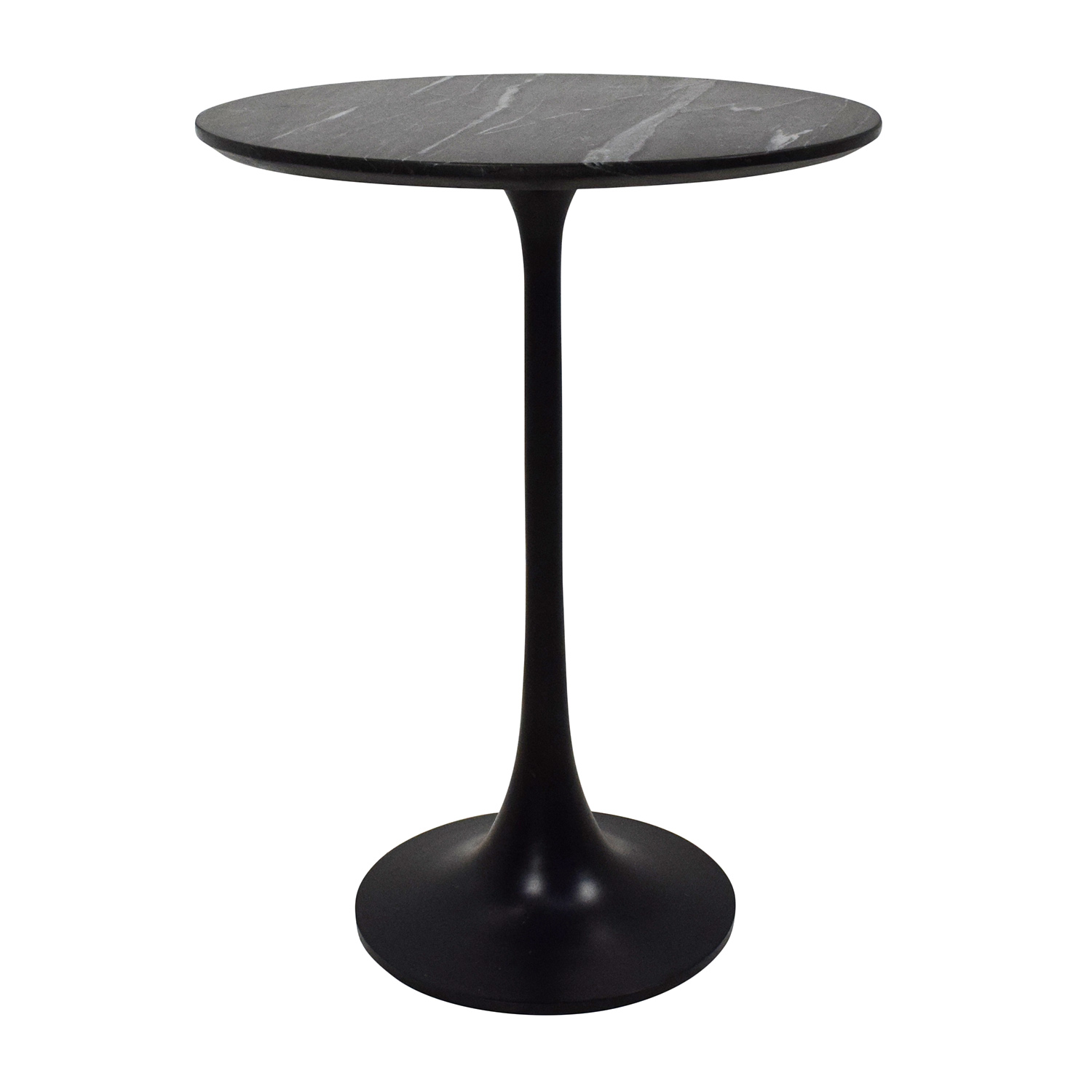 Crate And Barrel Black Marble Coffee Table: Crate And Barrel Crate & Barrel Marble Sidetable