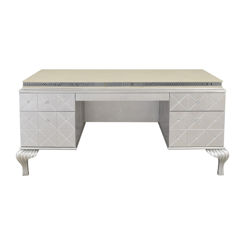 shop Michael Amini Jane Seymour Hollywood Swank Desk Michael Amini