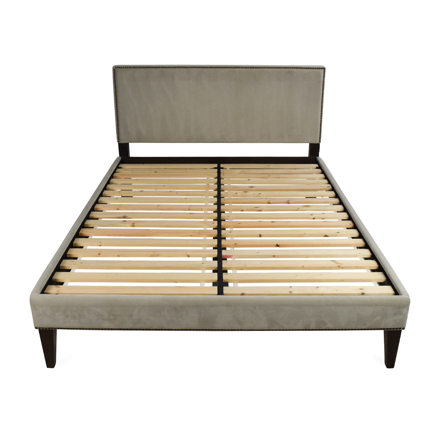 west elm west elm queen size bed used