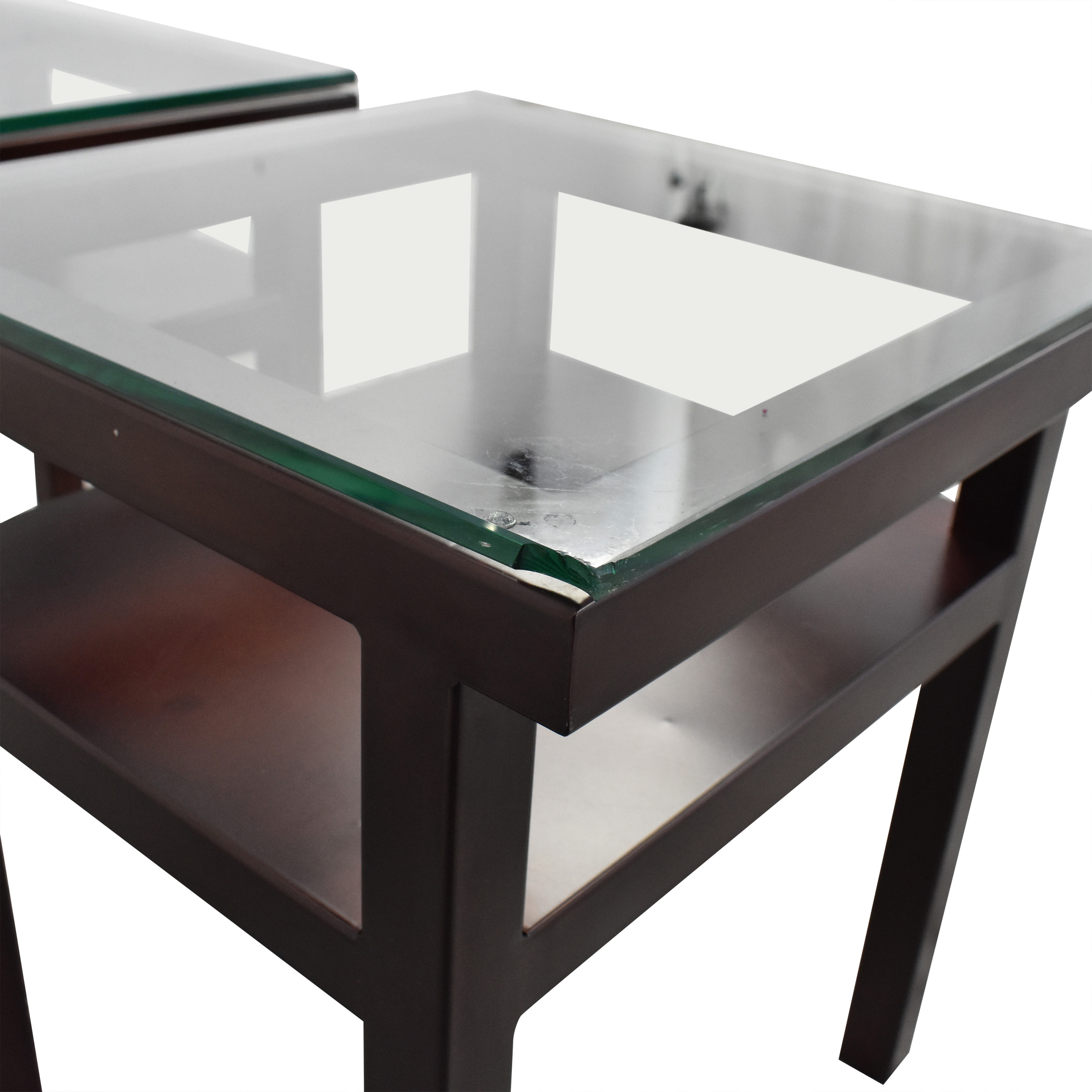 Orbit Two Tier End Tables Tables