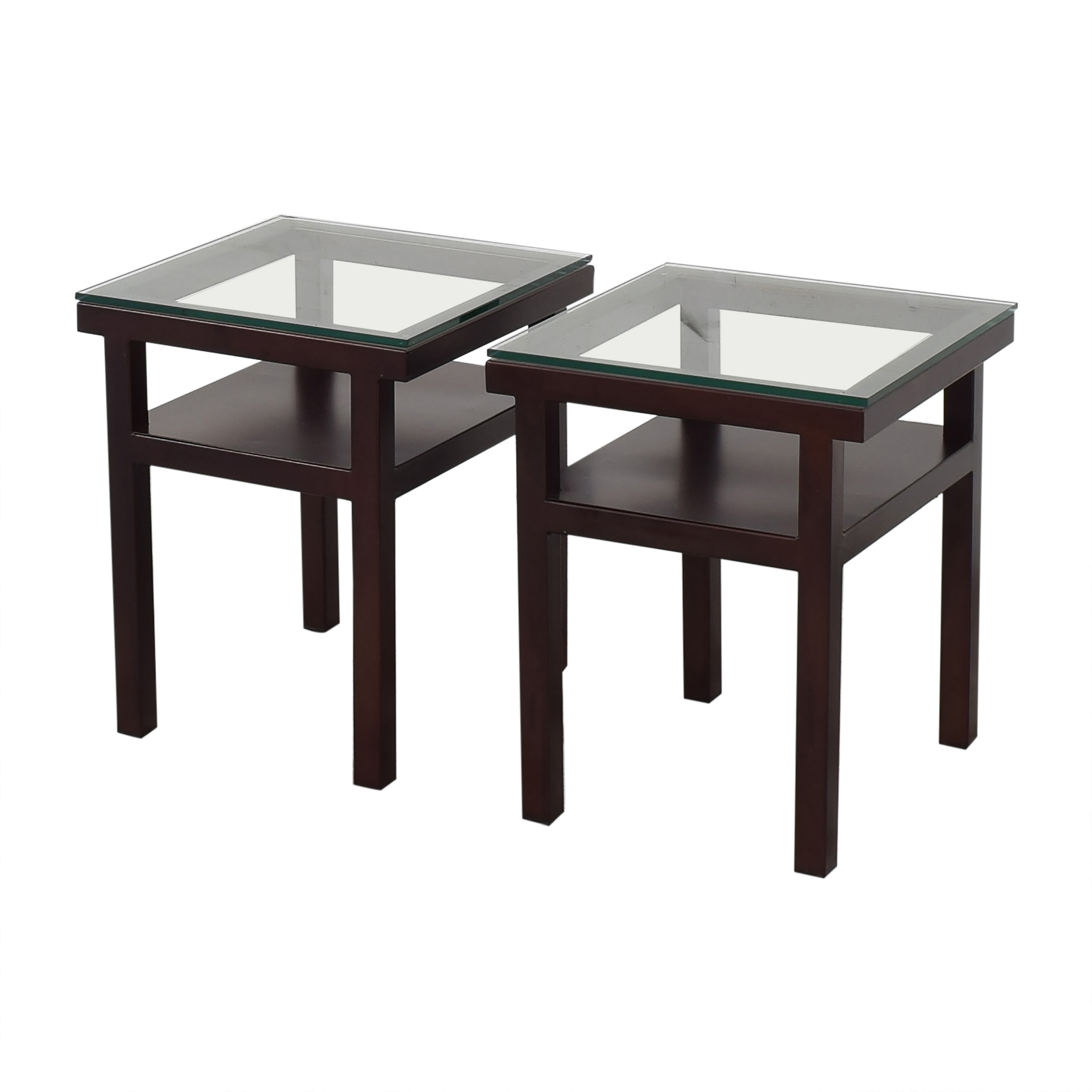 Orbit Two Tier End Tables ct