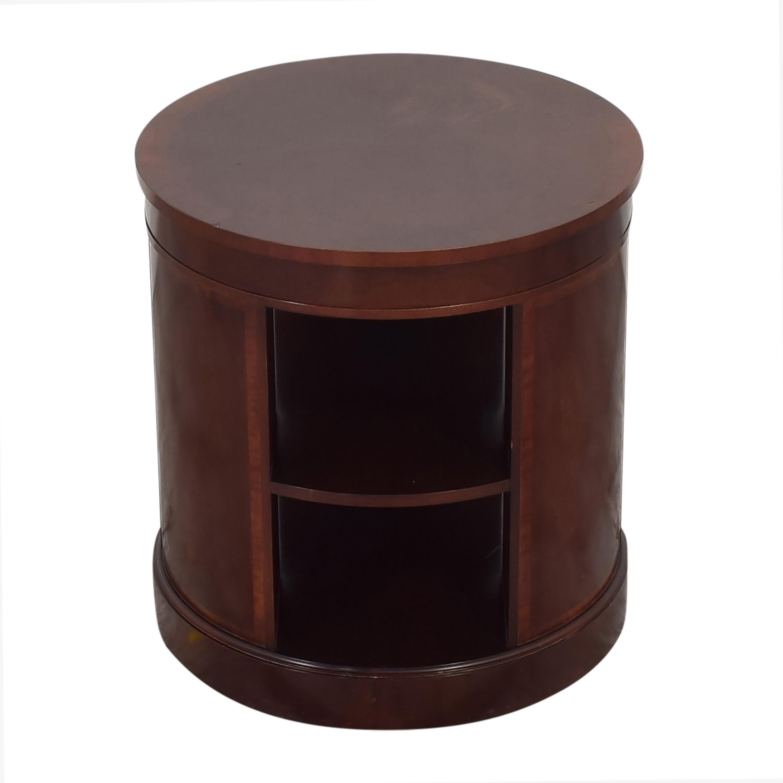 Baker Furniture Baker Round End Table End Tables