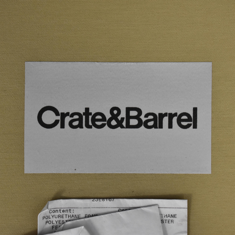 Crate & Barrel Cullen II Roll Arm Sofa / Sofas