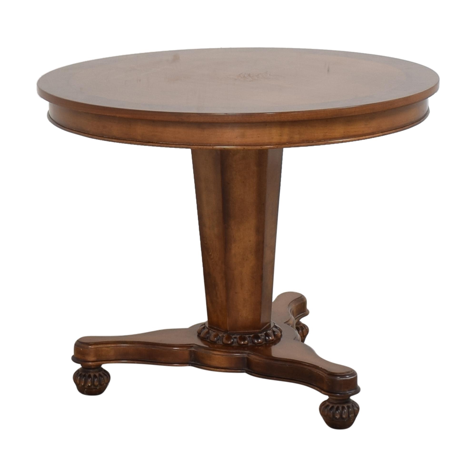 Baker Furniture Baker Furniture Milling Road Pedestal Table ct