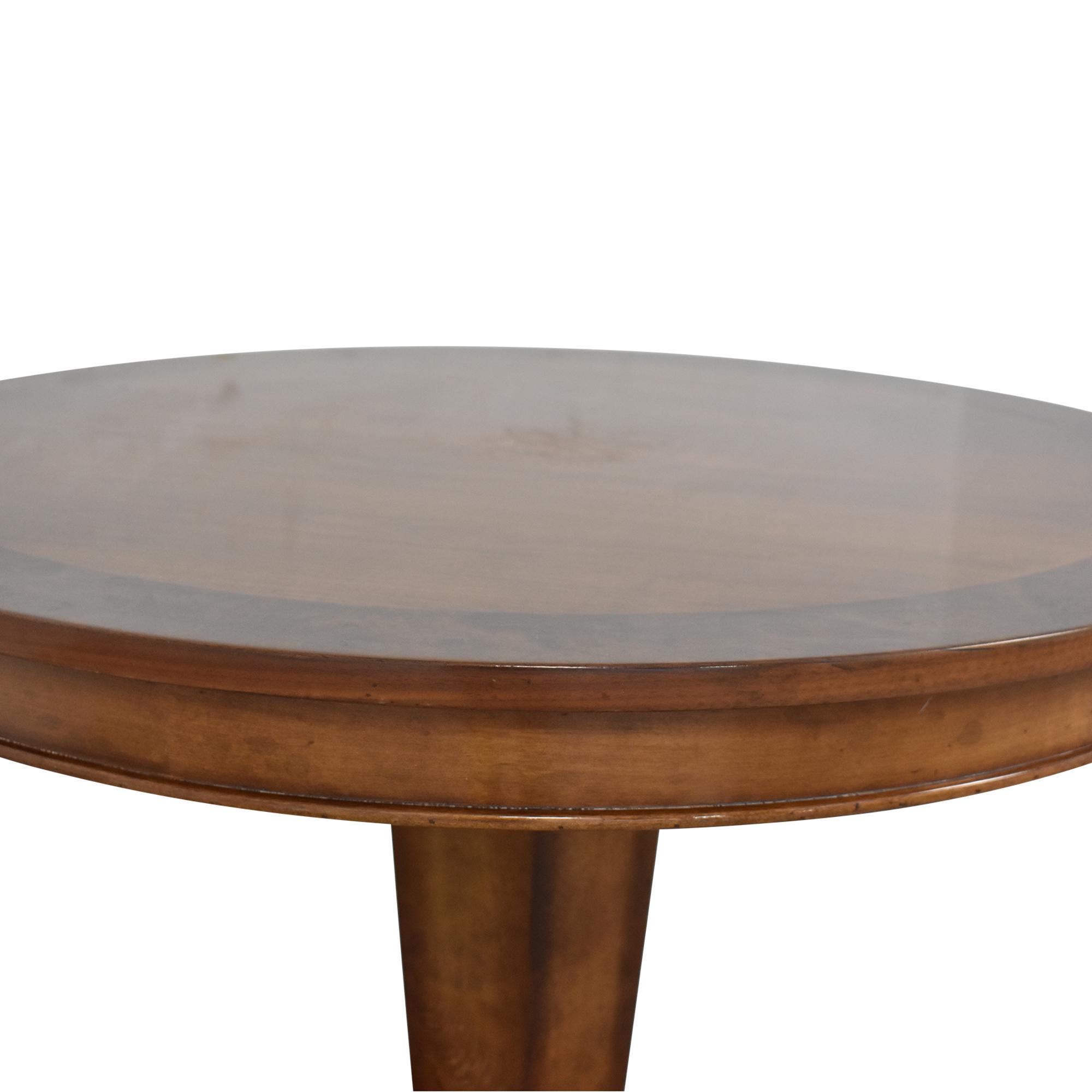Baker Furniture Milling Road Pedestal Table / Accent Tables