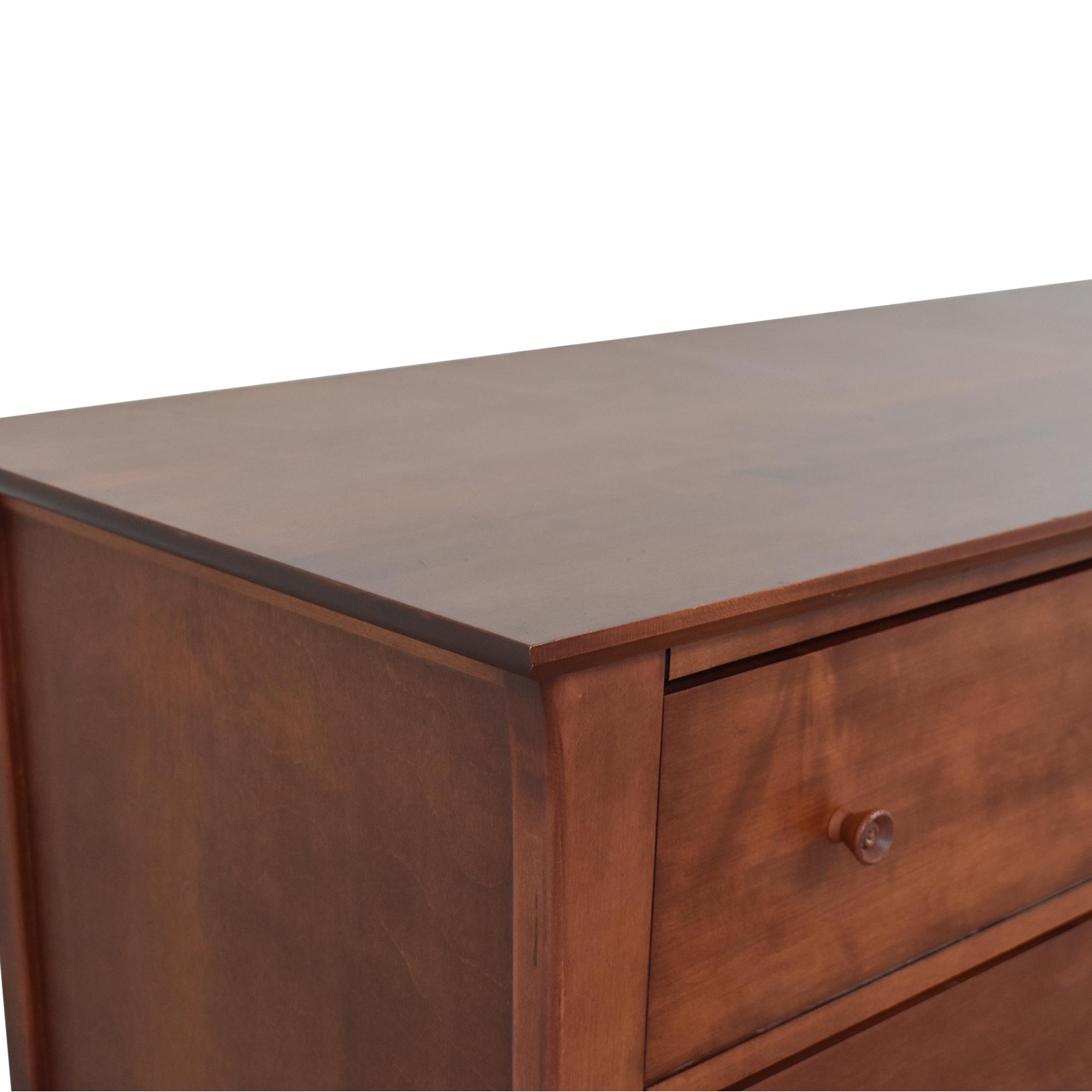 Baronet Baronet Six Drawer Double Dresser ma