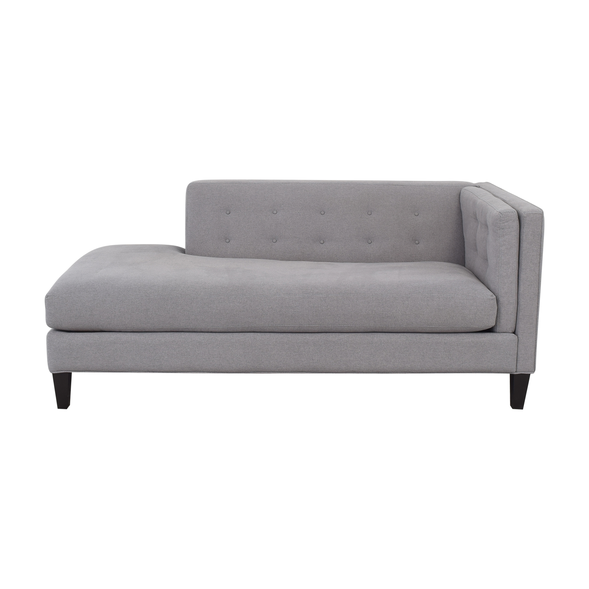 shop Macy's Macy's Braylei Fabric Chaise with Ottoman online
