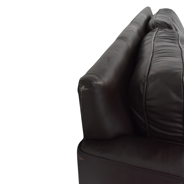 buy West Elm Henry Leather Sofa West Elm