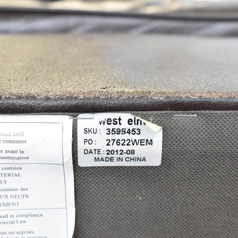 West Elm Henry Leather Sofa / Sofas