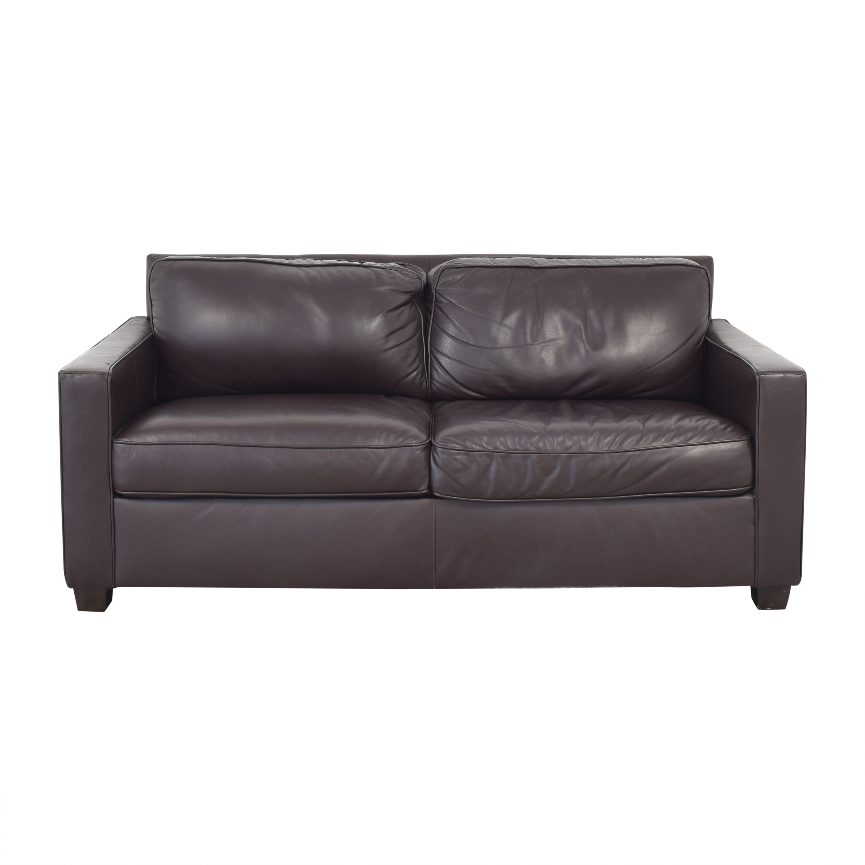 West Elm West Elm Henry Leather Sofa coupon