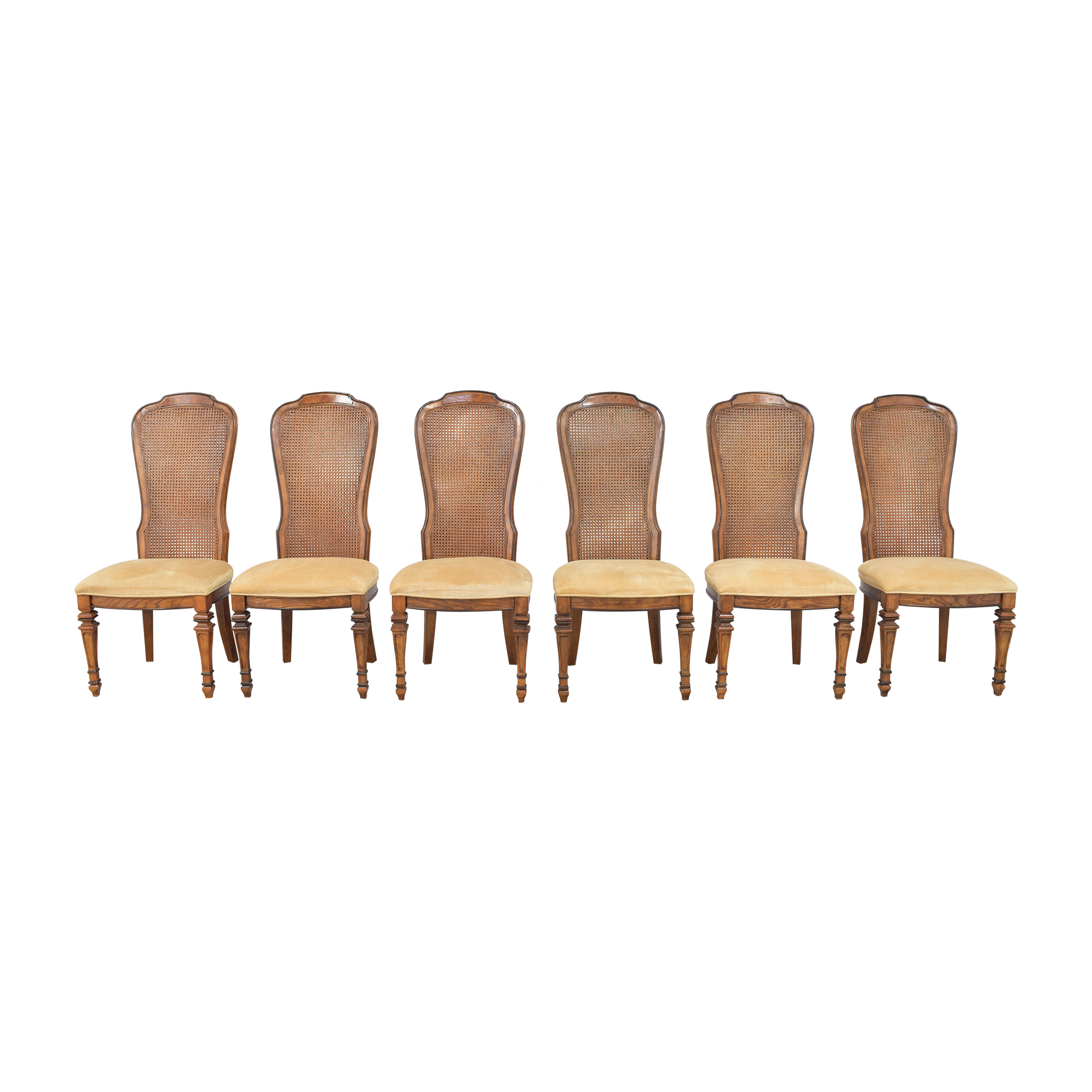 Bernhardt Upholstered Dining Chairs sale