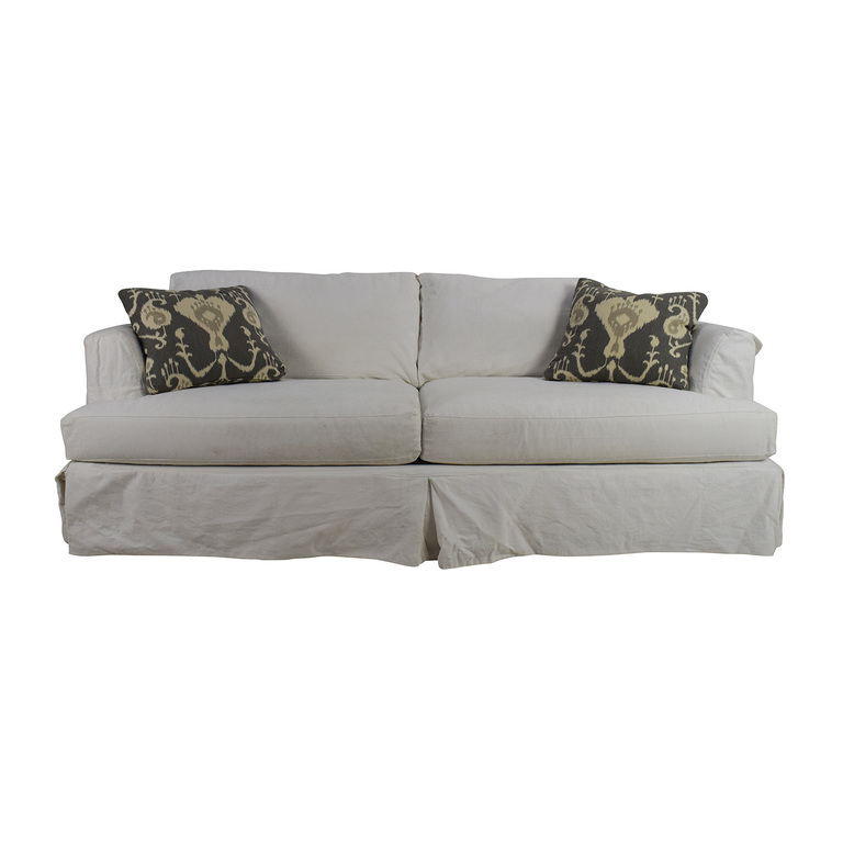 Jennifer Convertibles Melissa Slipcovered Sofa Jennifer Convertibles