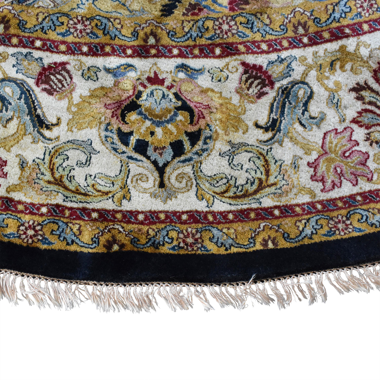 Round Wool Rug