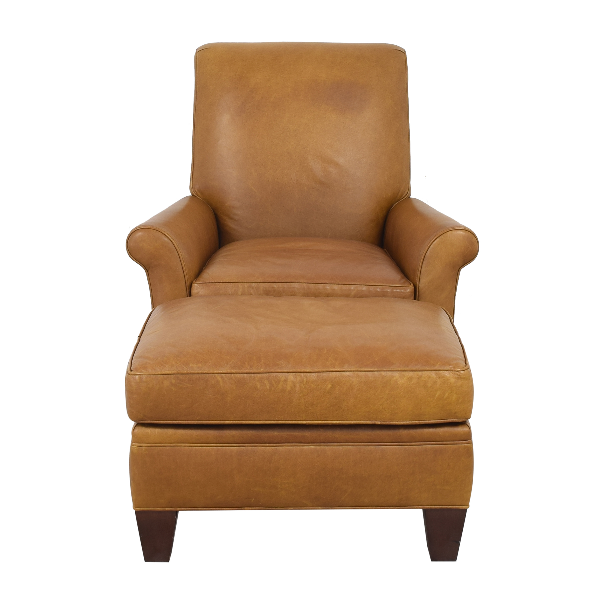 Jensen-Lewis Armchair with Ottoman / Accent Chairs