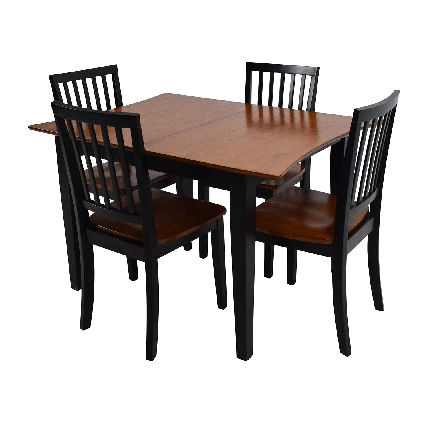 Bobs Discount Furniture Bobs Furniture Extendable Dining Set used