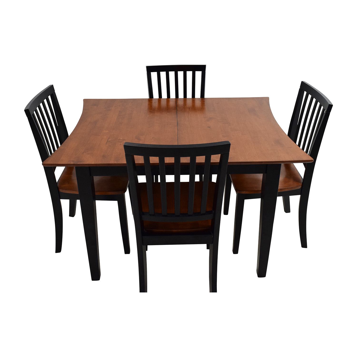 56 off bob 39 s discount furniture bob 39 s furniture for Dining room extendable table