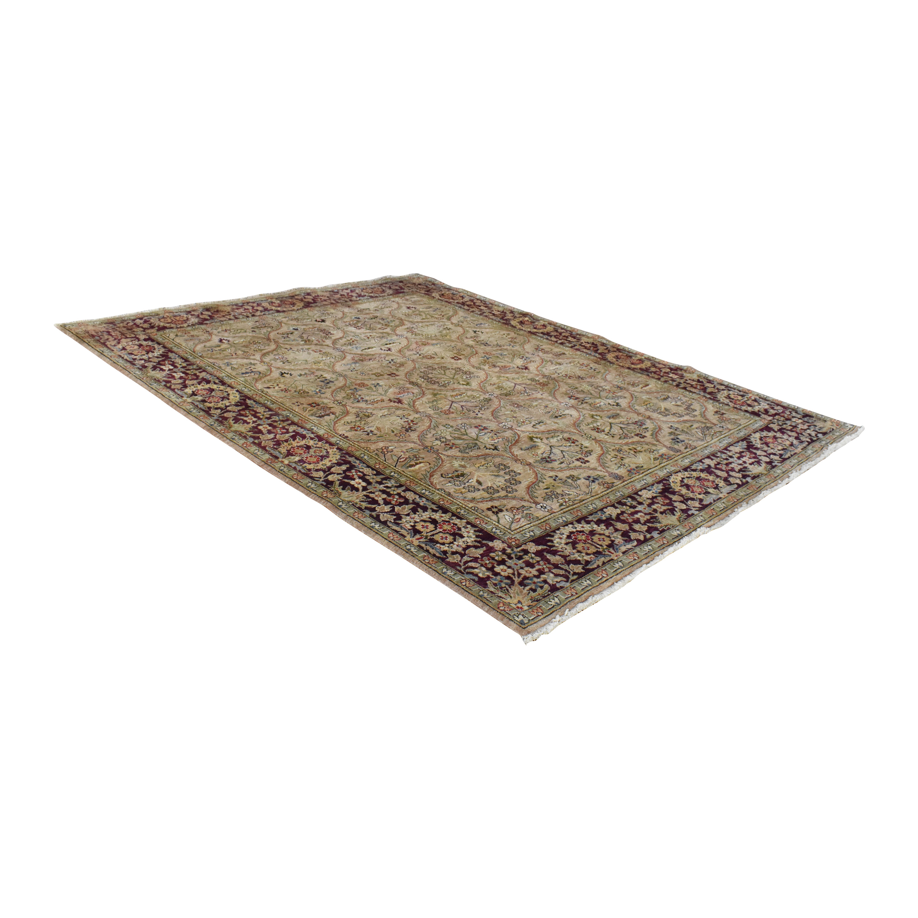 Bordered Style Area Rug pa