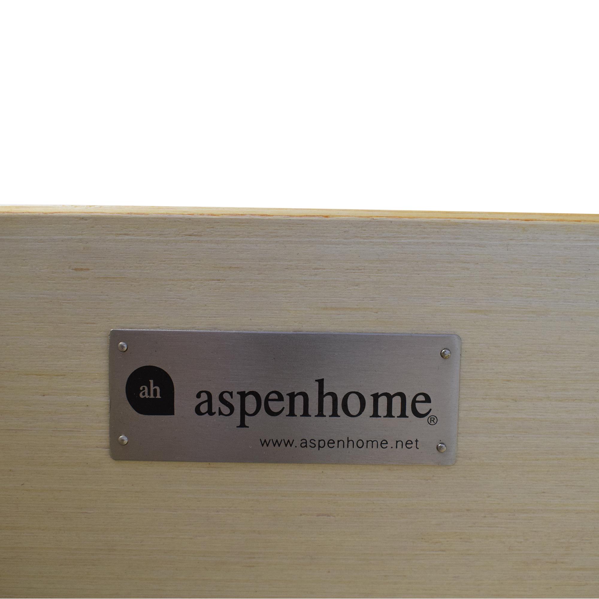 aspenhome aspenhome King Platform Sleigh Bed Bed Frames
