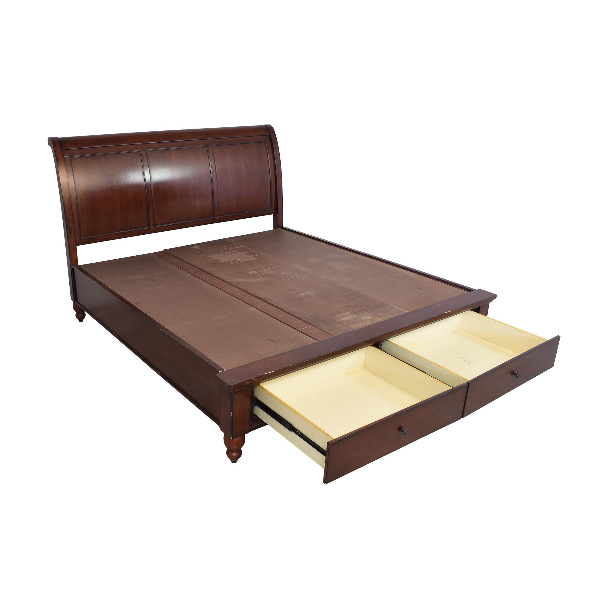 buy aspenhome aspenhome King Platform Sleigh Bed online