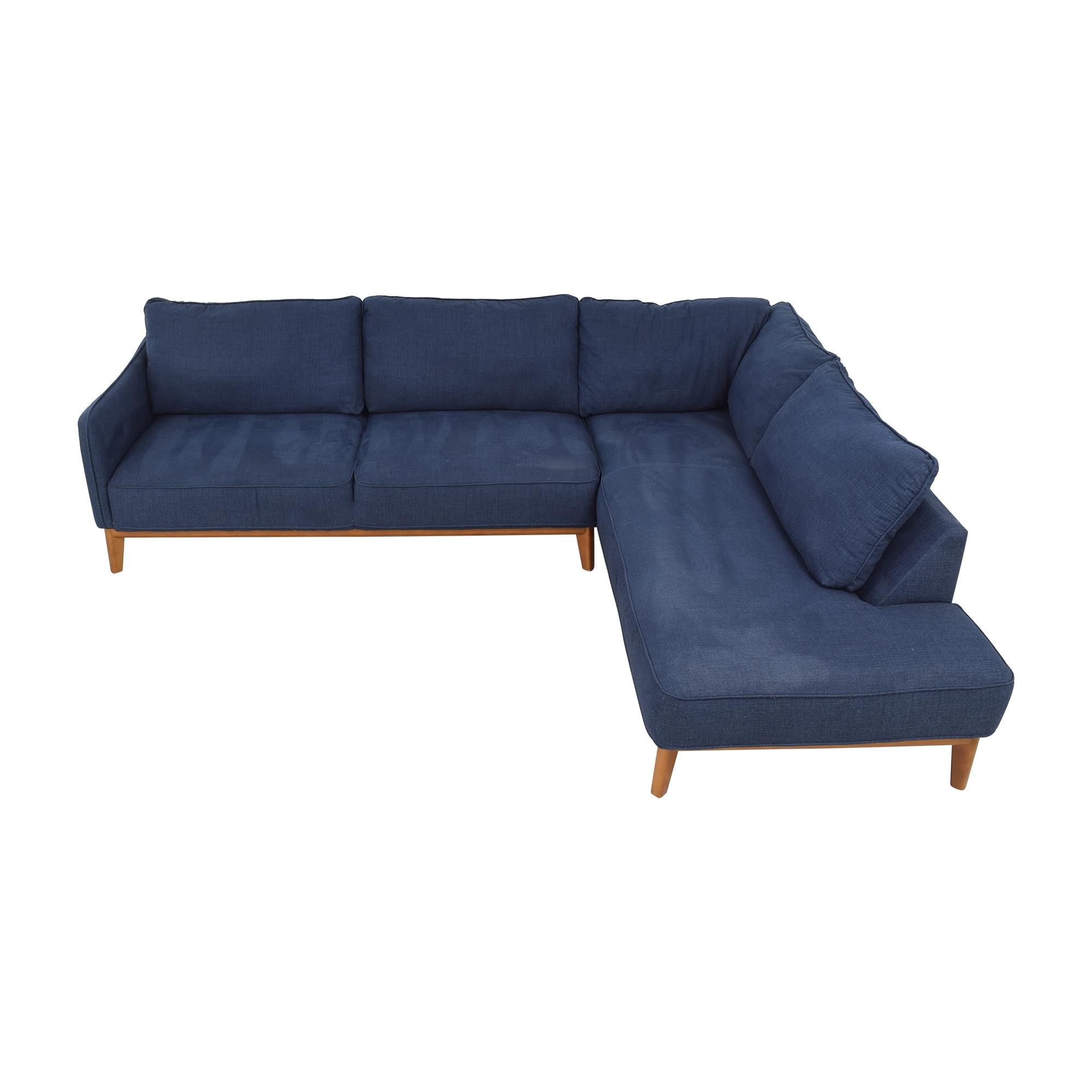 Jason Furniture Macy's Jollene Sectional Sofa ma