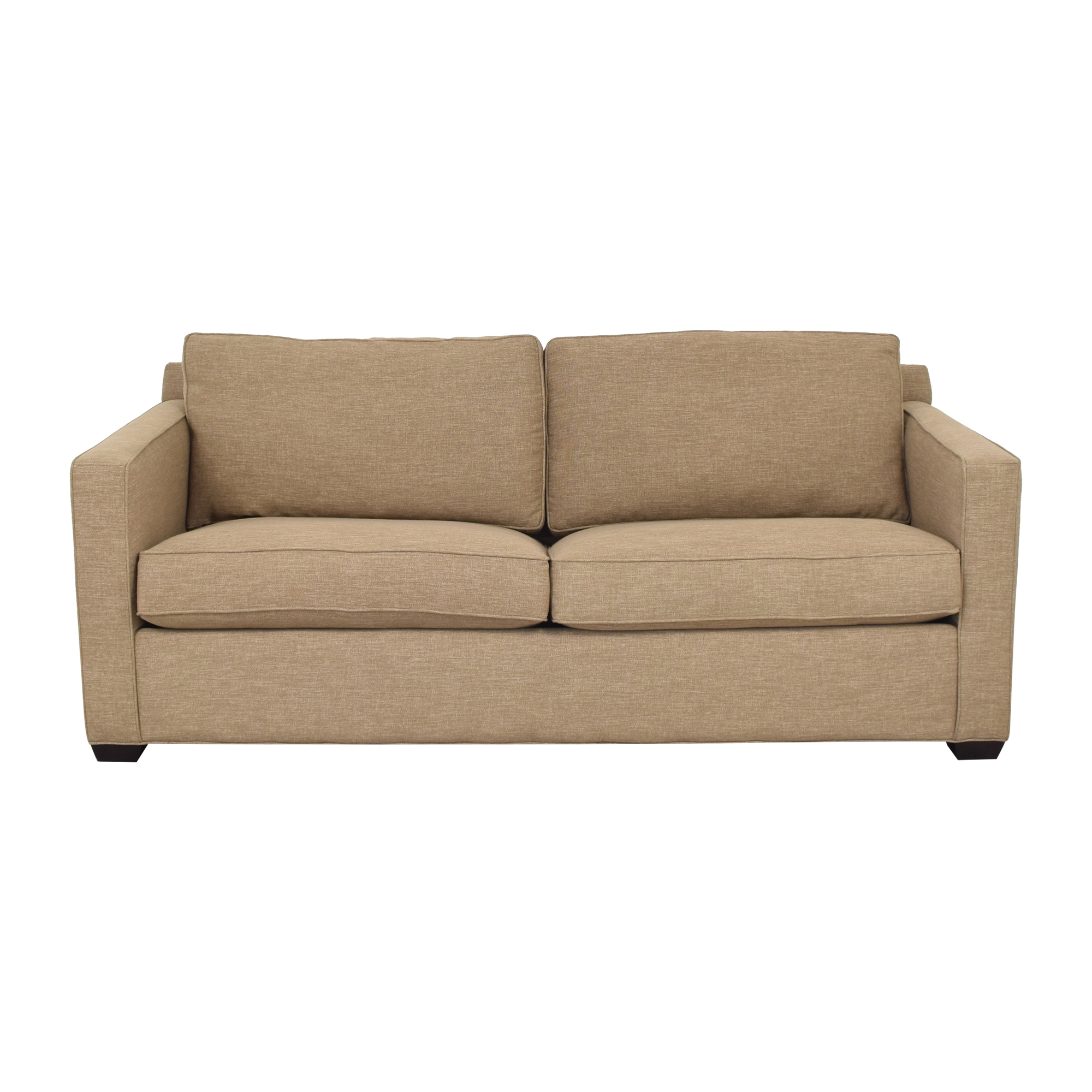shop Crate & Barrel Davis Full Sleeper Sofa Crate & Barrel Sofas