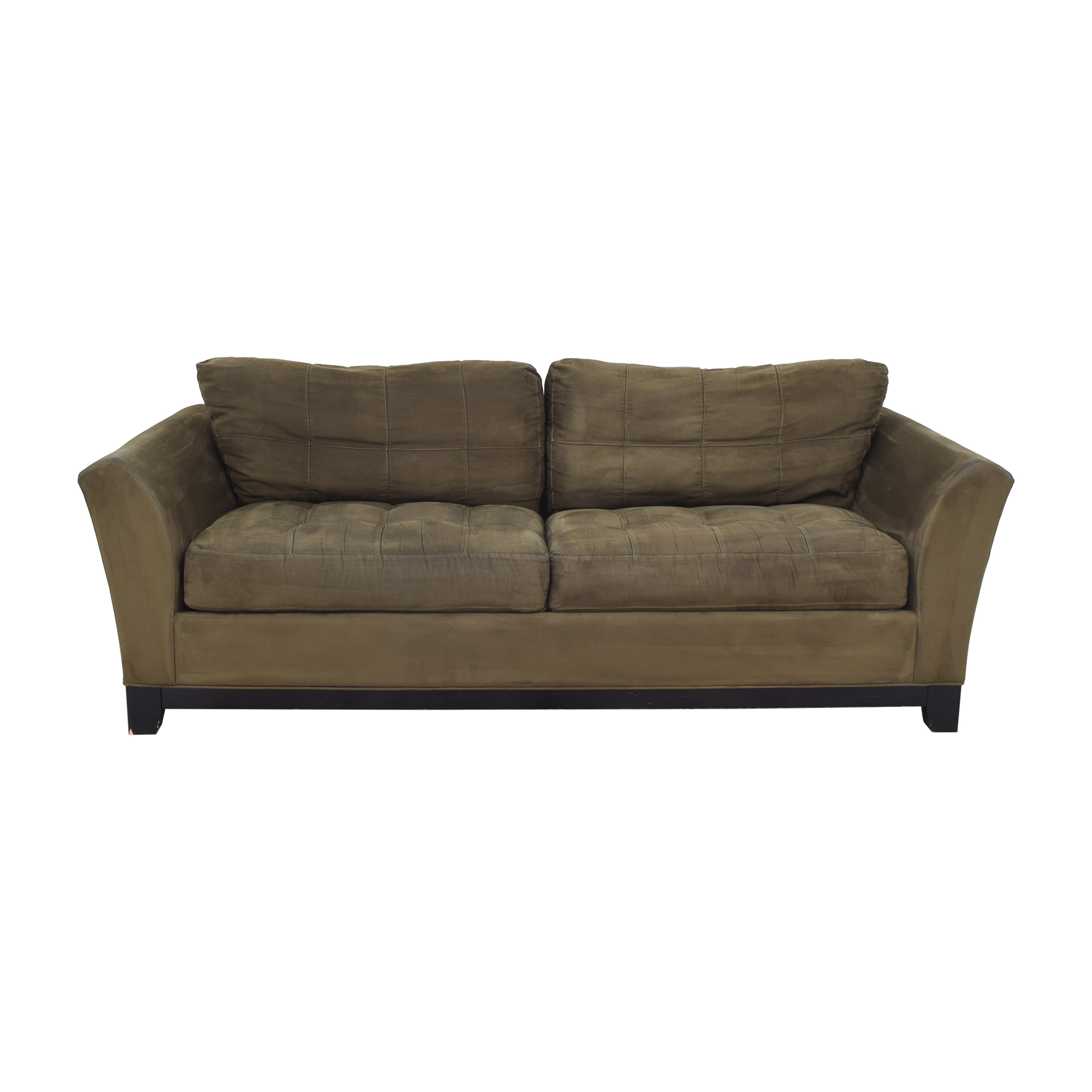 Raymour & Flanigan Raymour & Flanigan Sofa dark brown