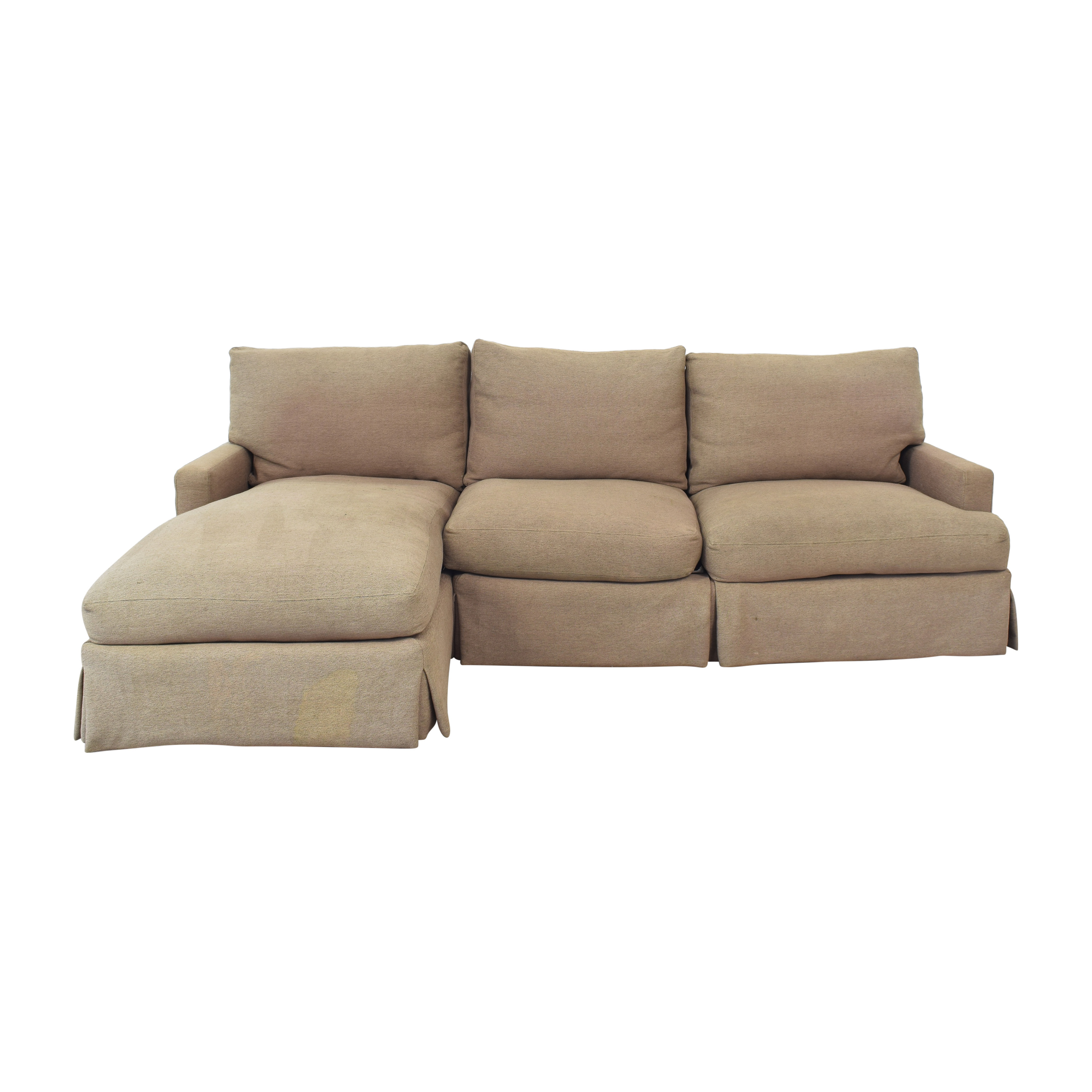shop Lee Industries Lee Industries Slipcovered Sectional Sofa online