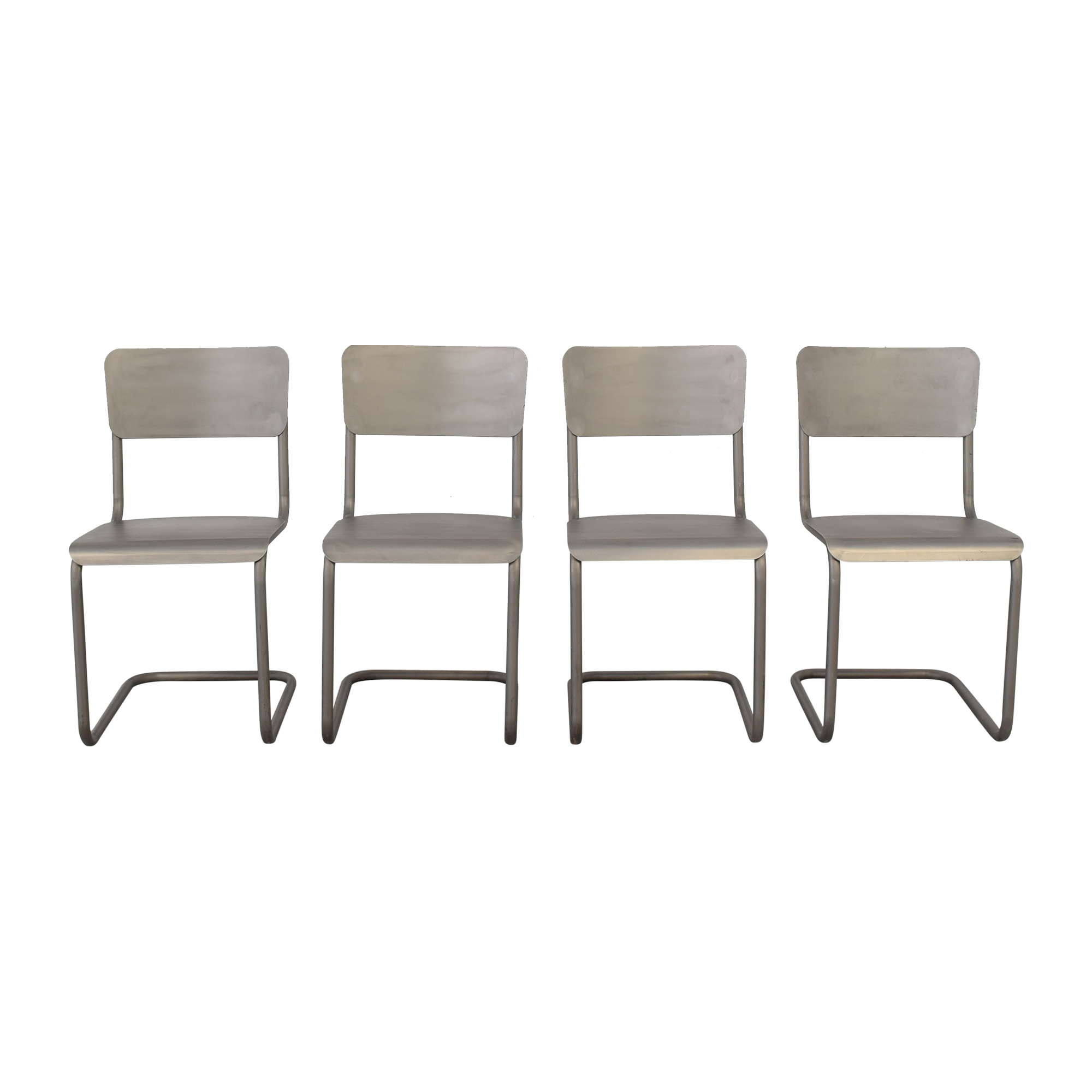 Restoration Hardware Restoration Hardware Metal Schoolhouse Side Chairs price