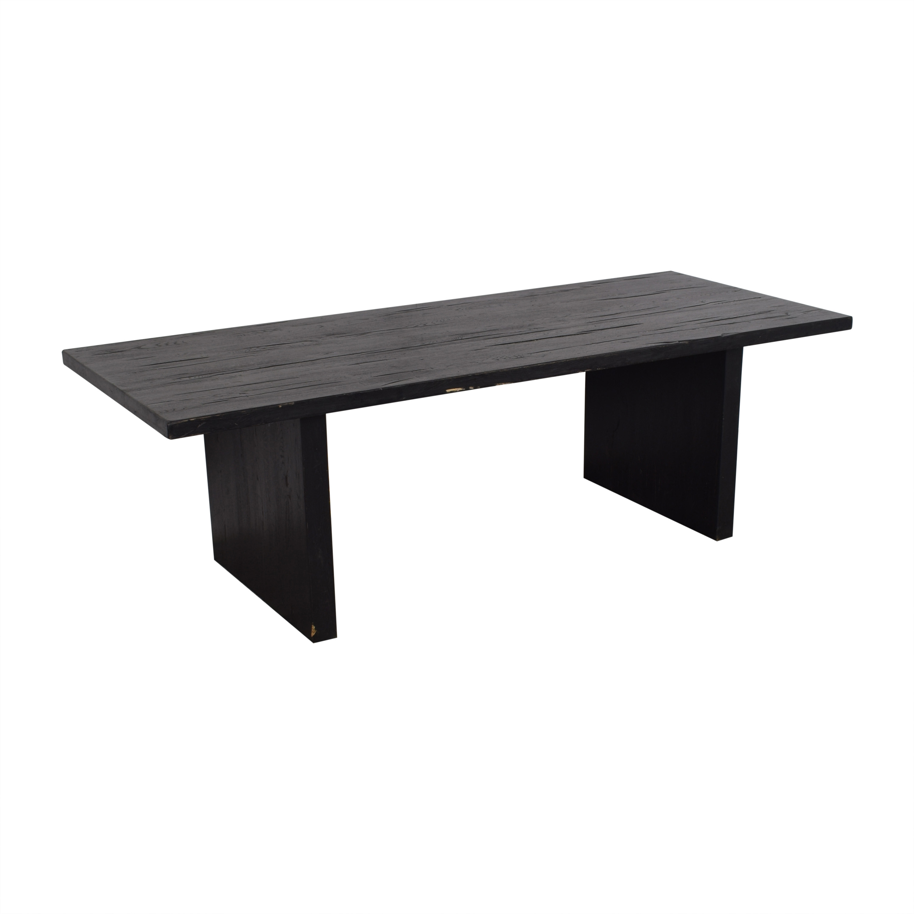 Restoration Hardware Plank Rectangular Dining Table / Tables