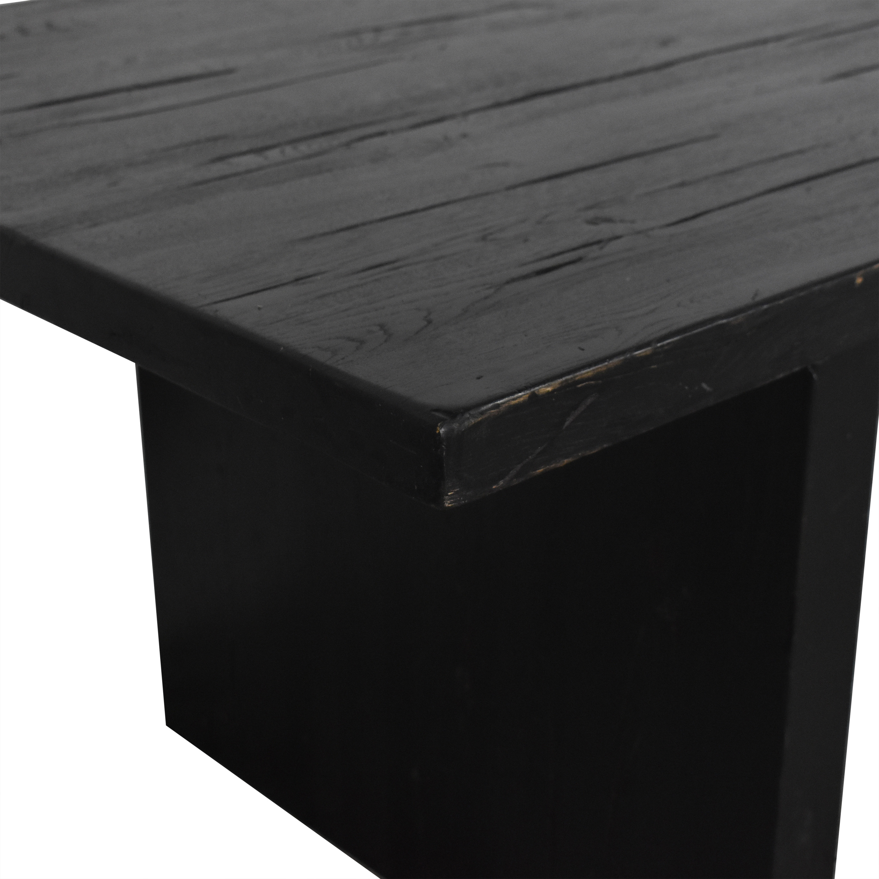 Restoration Hardware Restoration Hardware Plank Rectangular Dining Table second hand