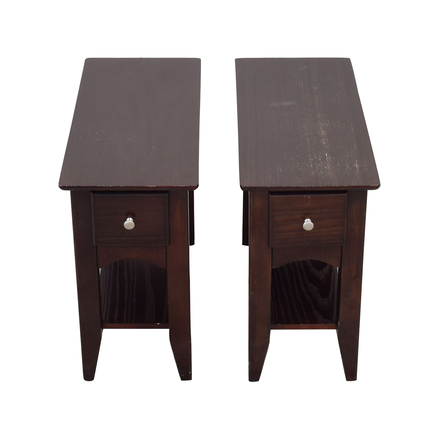 Riverside Furniture Riverside Furniture Metro II End Tables dark brown