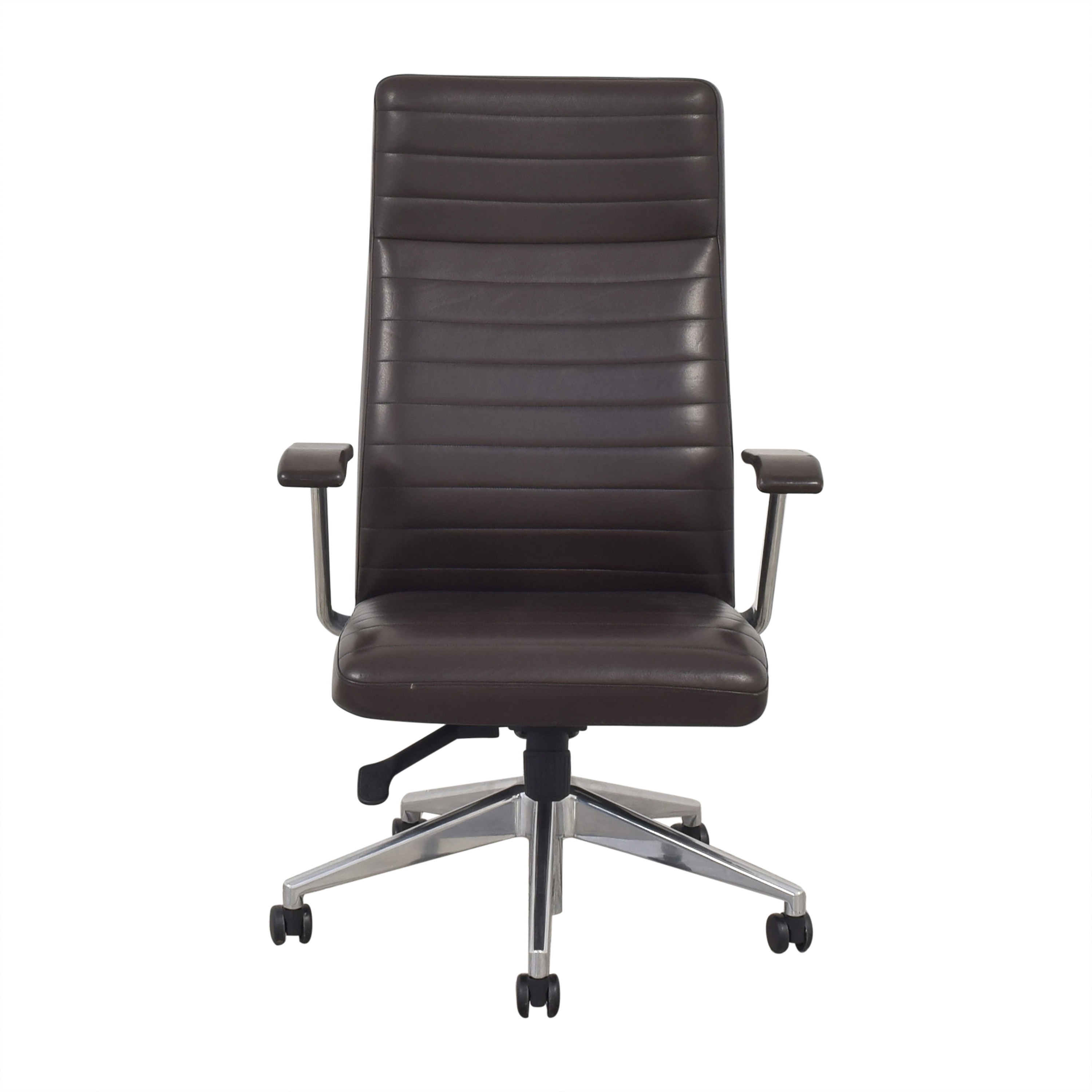 HBF HBF Mode High Back Channel Stitched Swivel Chair coupon