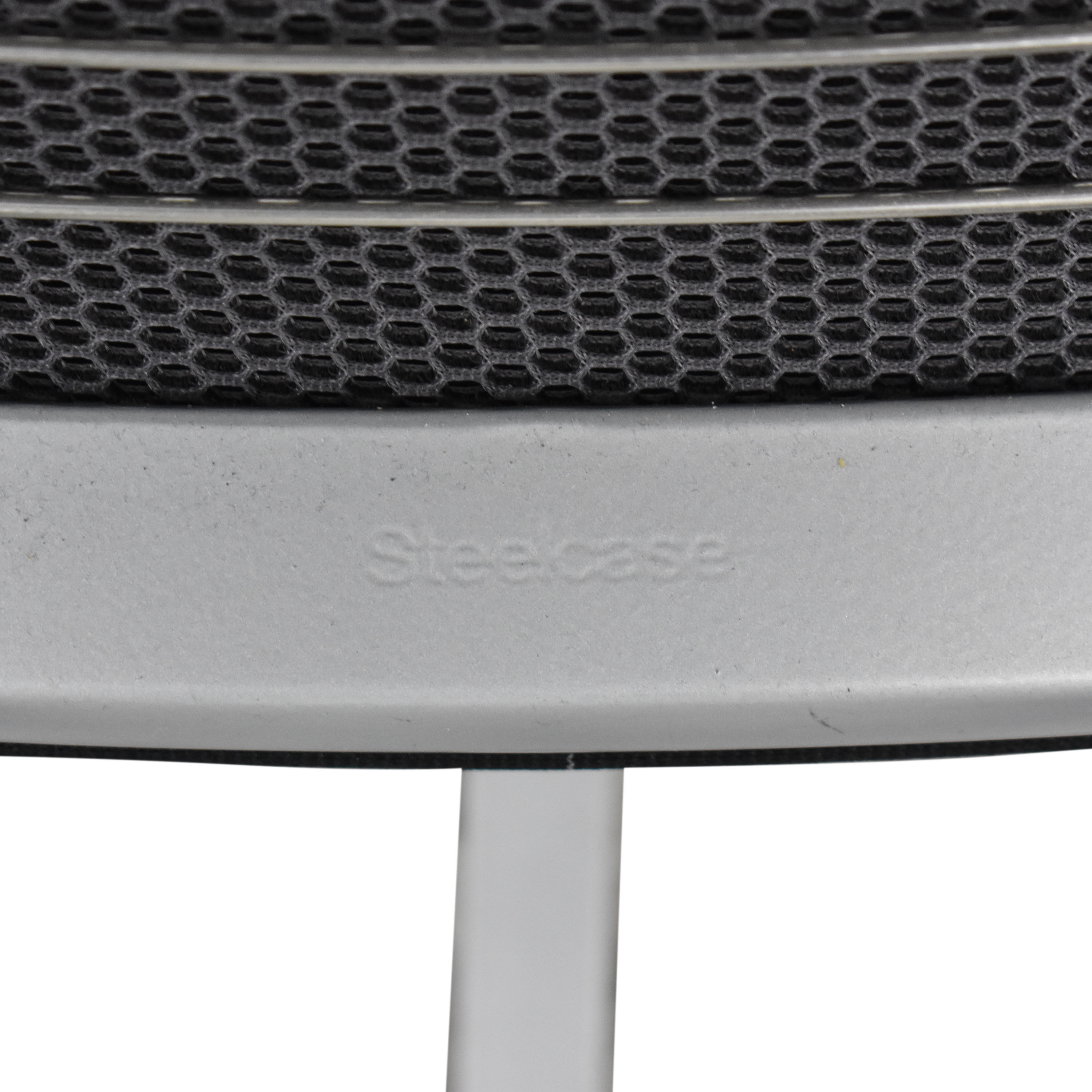 Steelcase Steelcase Cobi Swivel Chair Black and silver