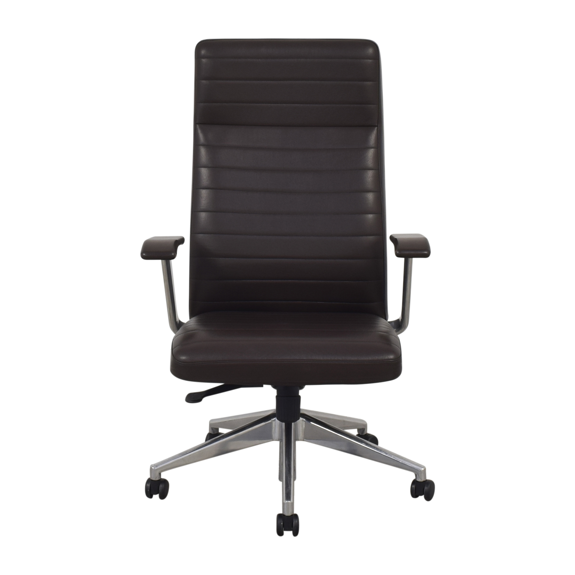 HBF HBF Mode High Back Channel Stitched Swivel Chair ma