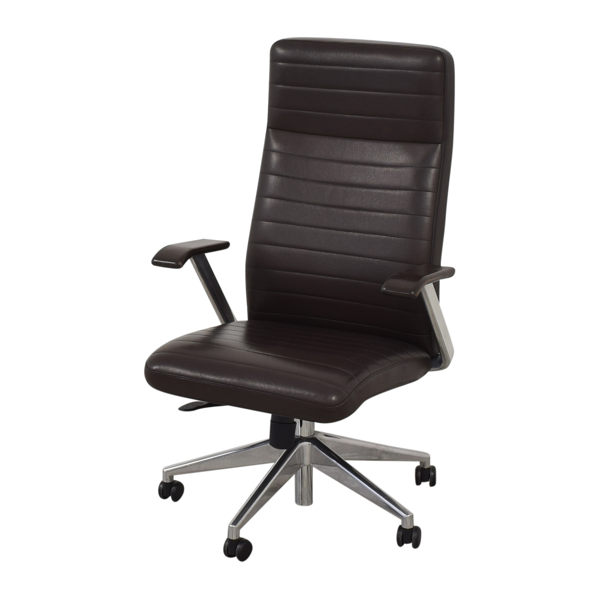 HBF HBF Mode High Back Channel Stitched Swivel Chair