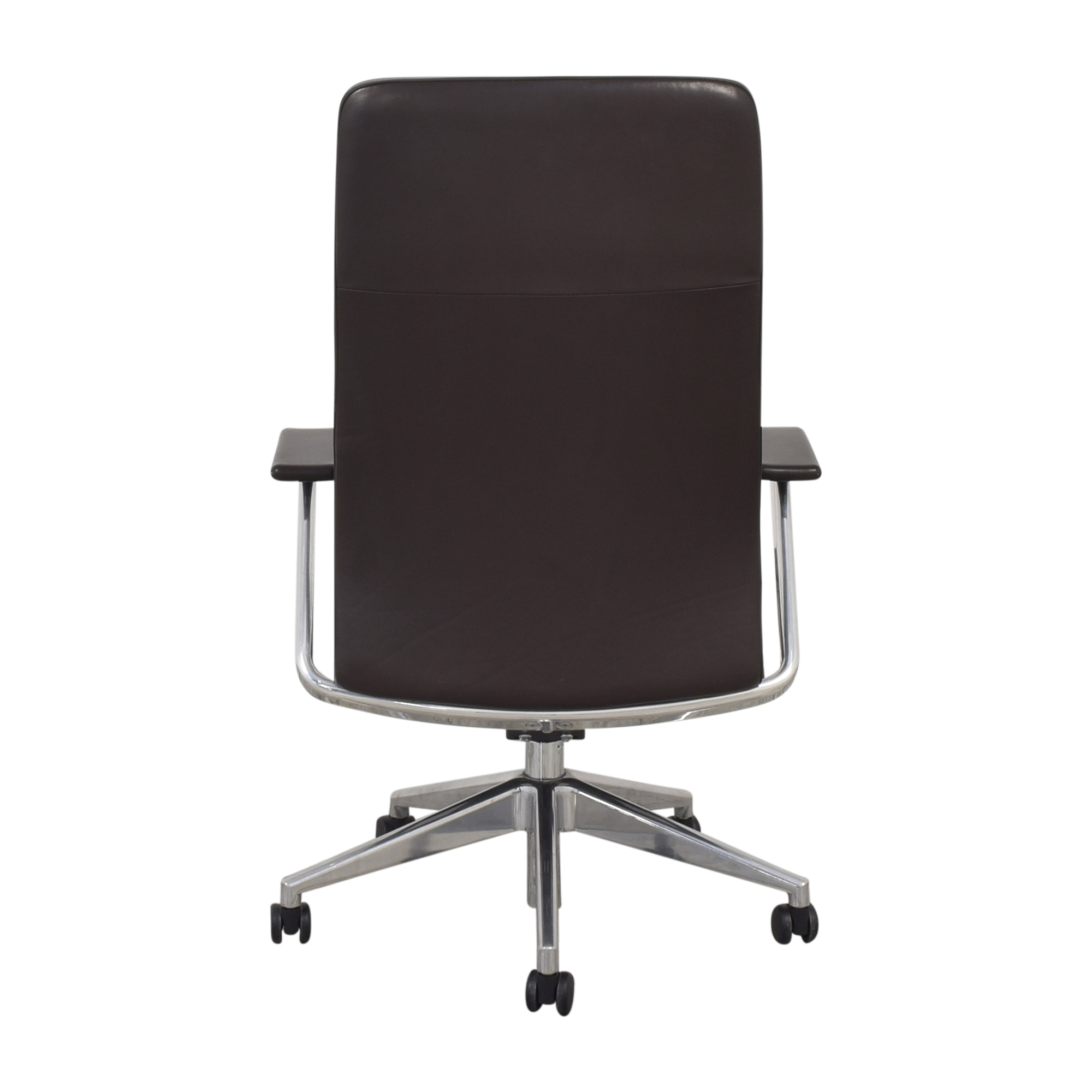 HBF Mode High Back Channel Stitched Swivel Chair HBF