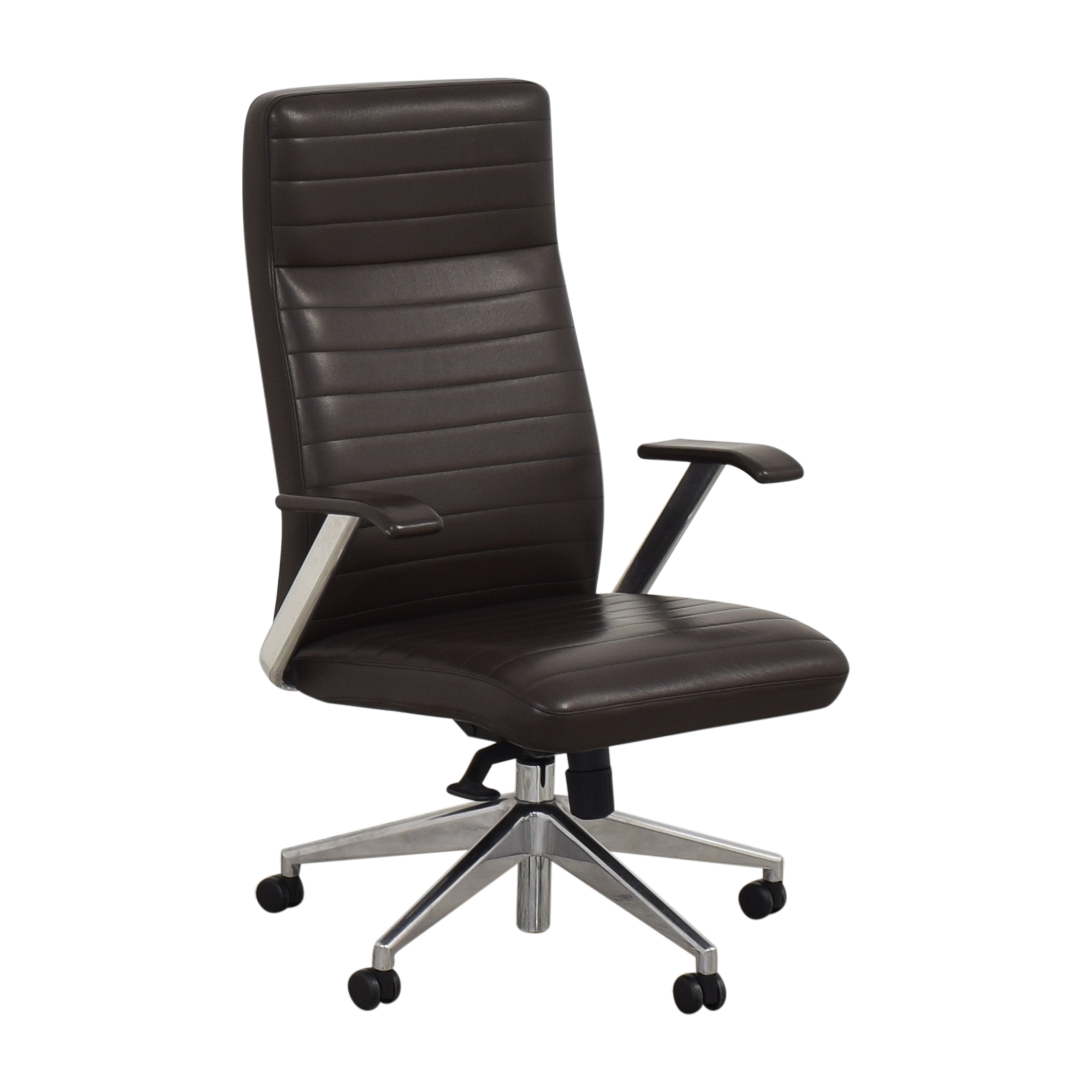 buy HBF Mode High Back Channel Stitched Swivel Chair HBF Chairs