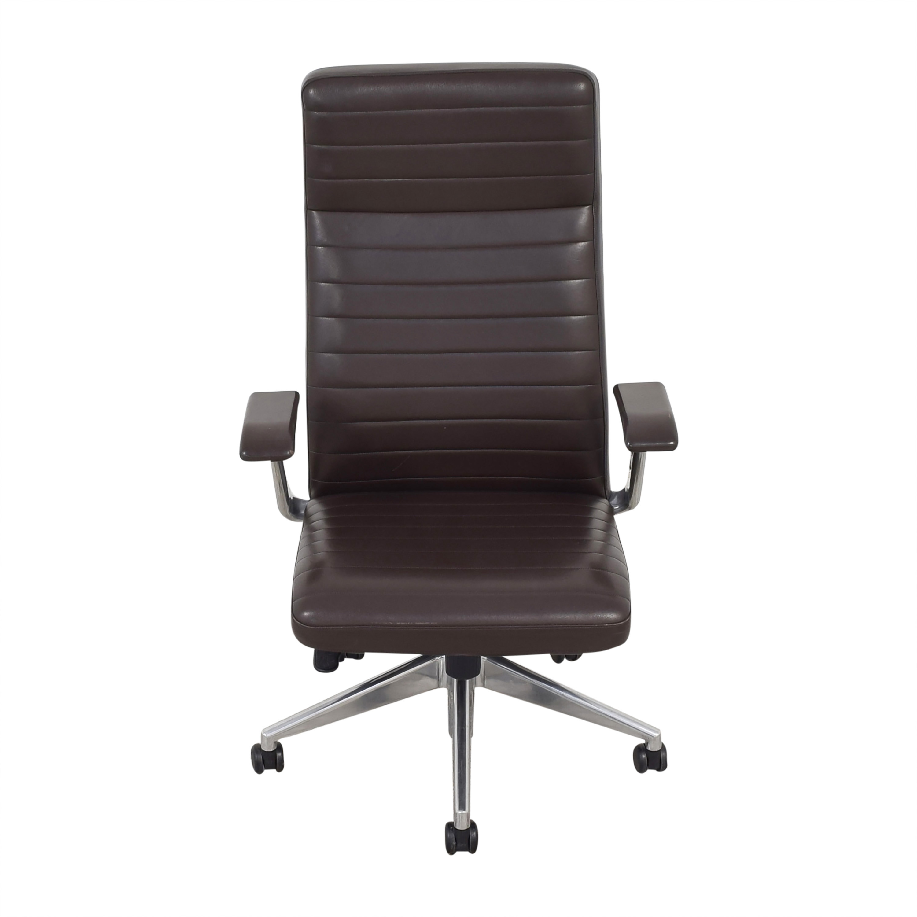 HBF Mode High Back Channel Stitched Swivel Chair / Chairs