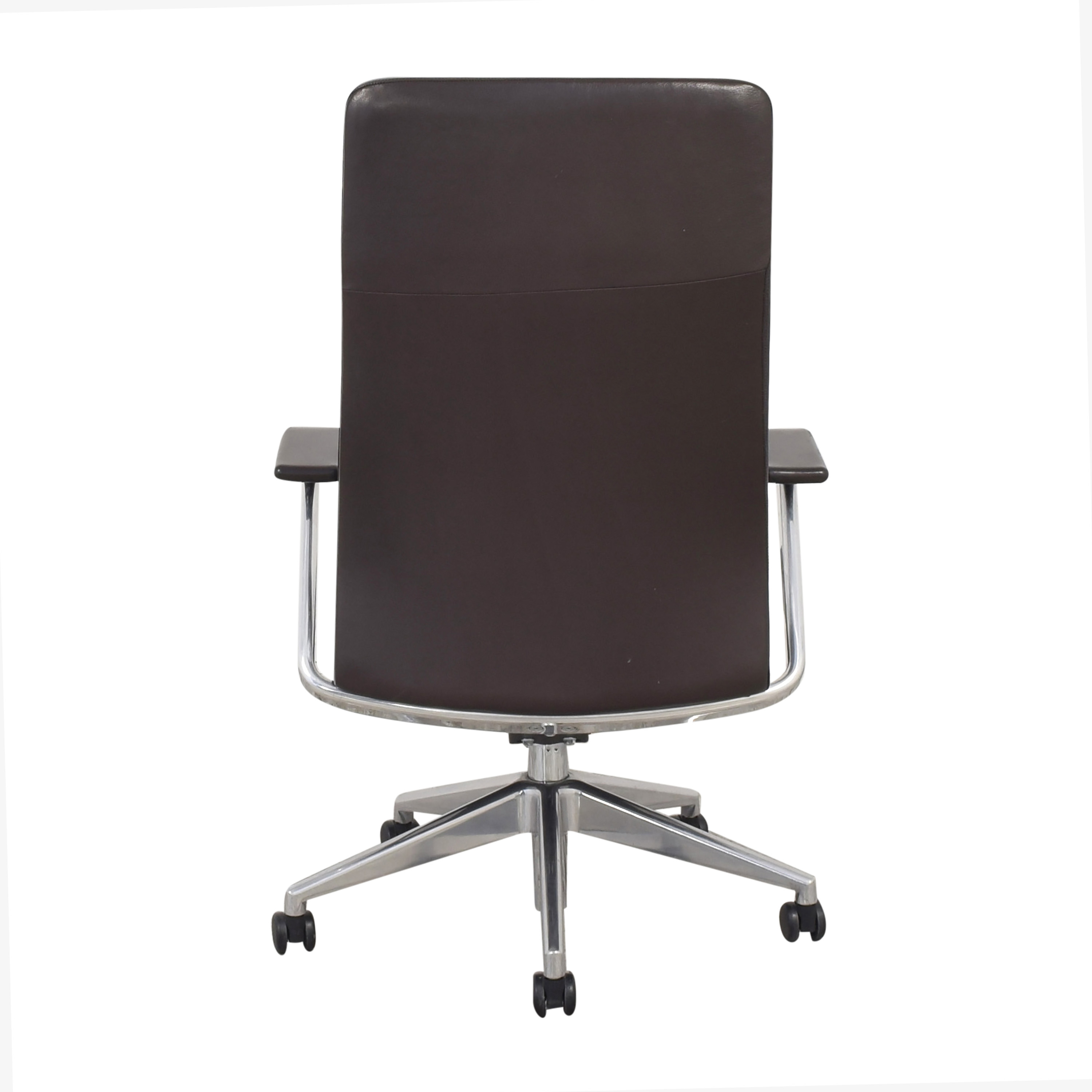 shop HBF Mode High Back Channel Stitched Swivel Chair HBF