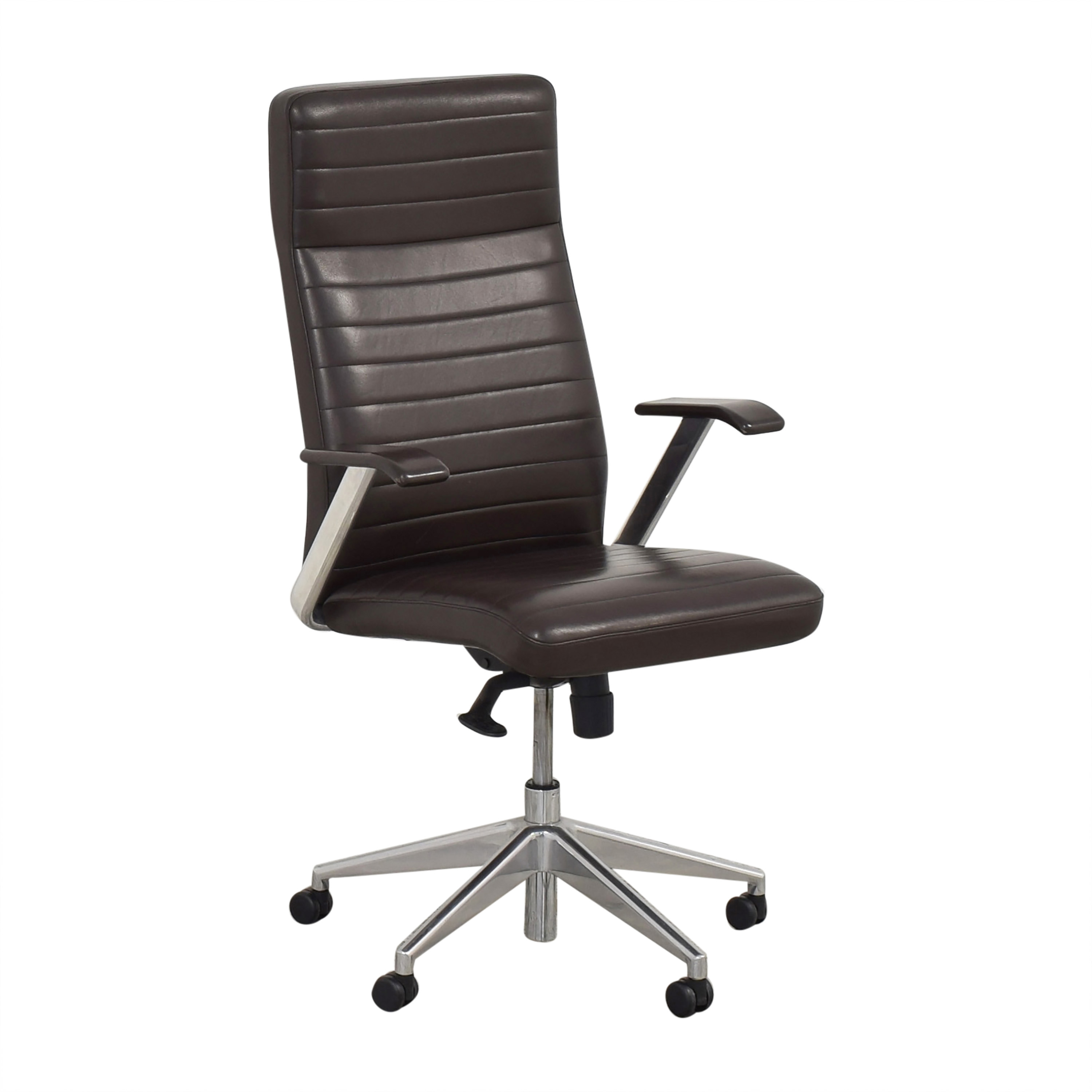 buy HBF HBF Mode High Back Channel Stitched Swivel Chair online