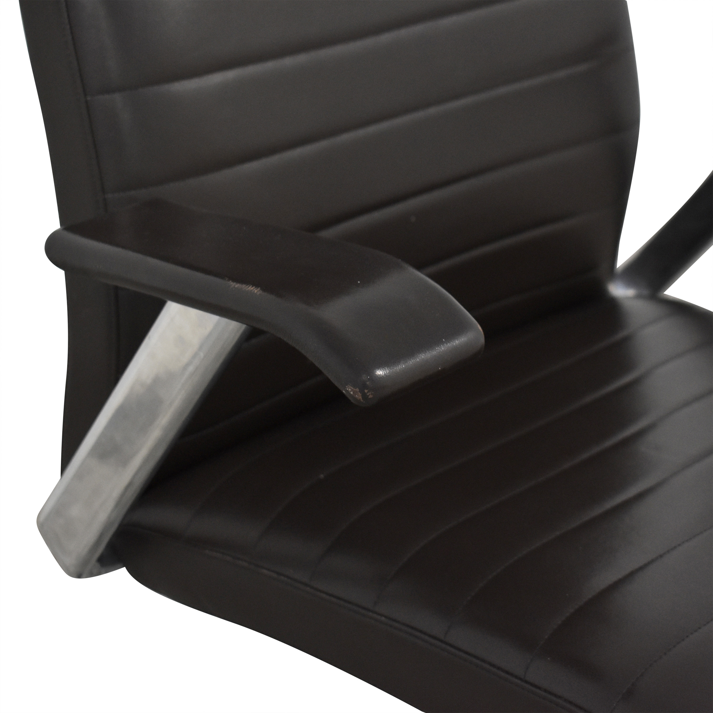 buy HBF Mode High Back Channel Stitched Swivel Chair HBF